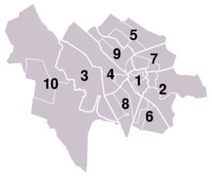 Alle wijken in Utrecht